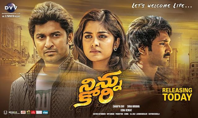 Ninnu Kori (2017) Telugu Movie Real DVDScr 720p