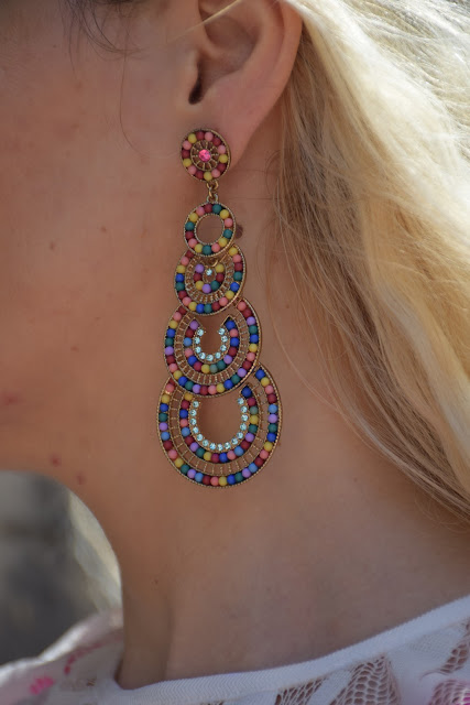 orecchini majique orecchini estivi summer earrings majique london earrings mariafelicia magno fashion blogger color block by felym fashion bloggers italy blog di moda blogger italiane