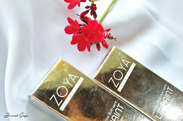 zoya lip cream limited edition