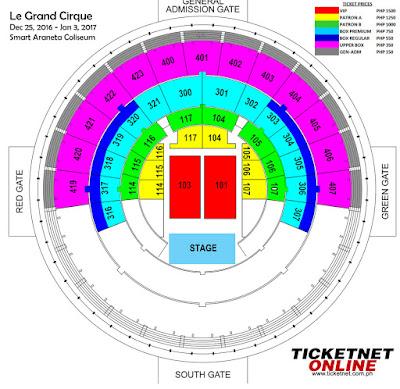 Smart Araneta Coliseum Le Grand Cirque