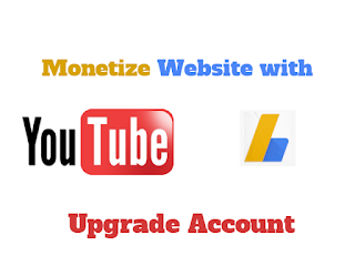 How to Upgrade  Youtube AdSense to Show ads on a Websites