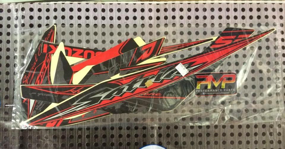 Sticker Coverset Satria Fu For Suzuki Belang    Raider 150