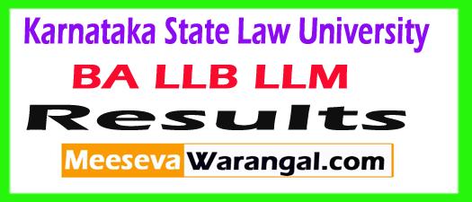 KSLU Results 2017 Check 1st 3rd 5th Sem for BA, LLB, LLM Result at www.kslu.ac.in