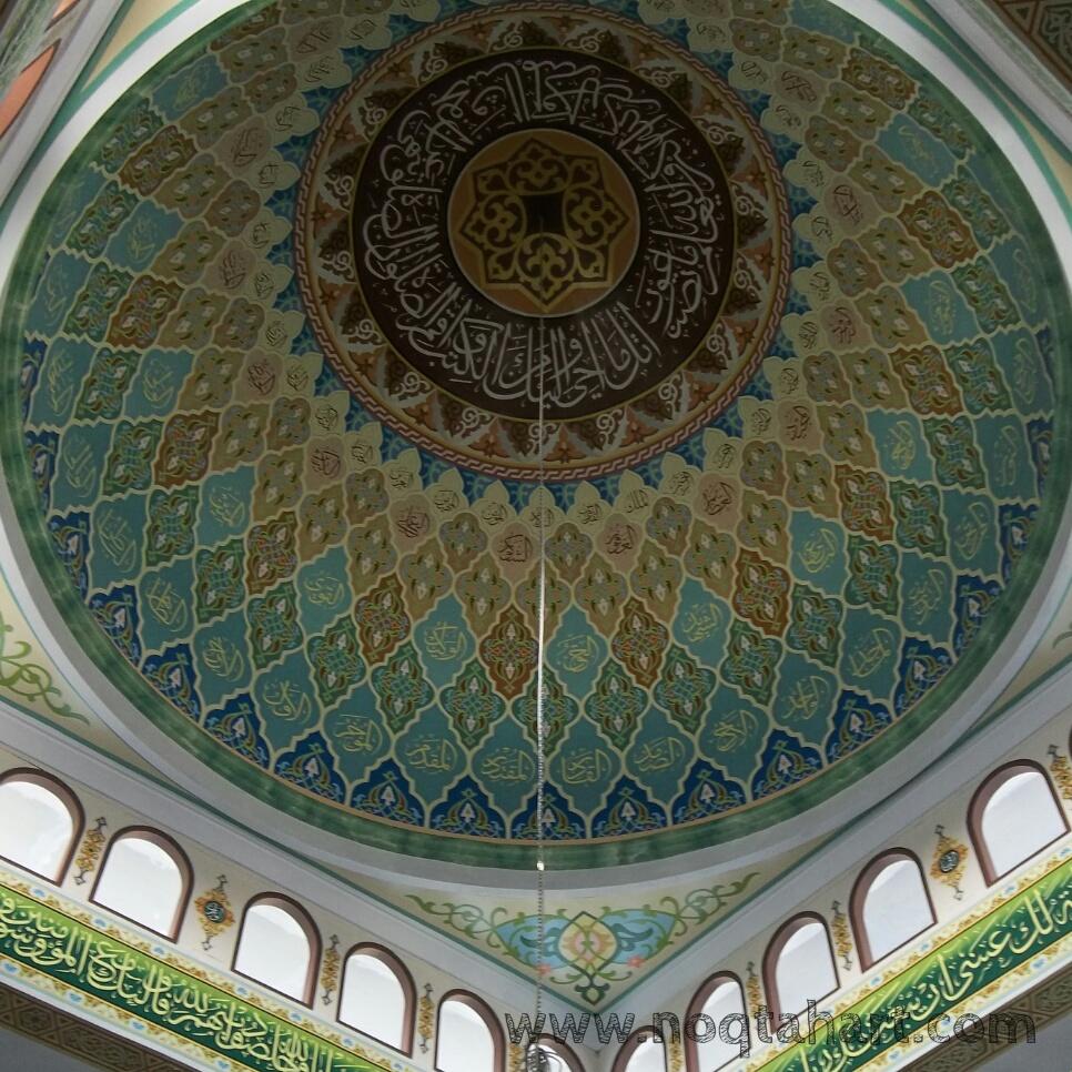 dekorasi kubah masjid