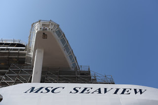 Float out of Msc Seaview