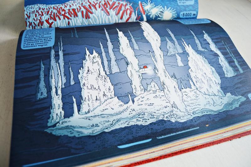 debajo de la tierra debajo del agua libros infantiles