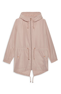 Blush Raincoat, Primark Haul