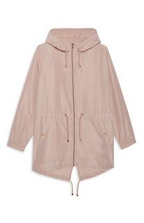Blush Raincoat, Primark Haul
