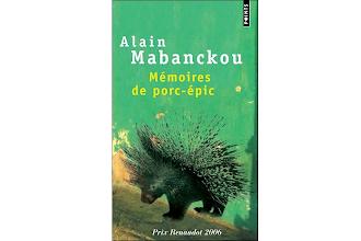 Lundi Librairie : Mémoires de porc-épic - Alain Mabanckou