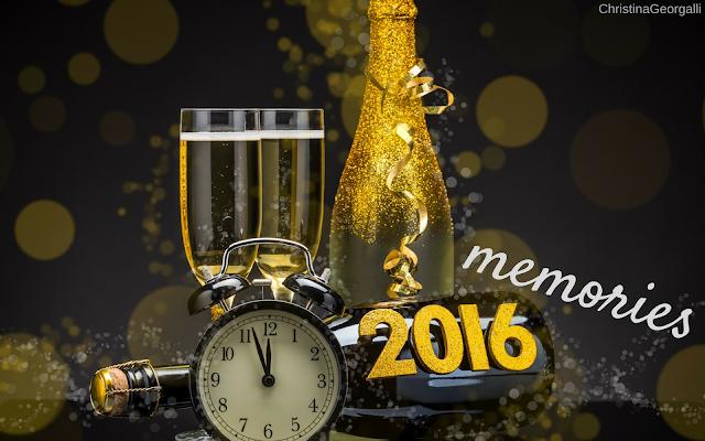 Λίγο πριν φύγει ο παλιός ο χρόνος.. 2016 memories