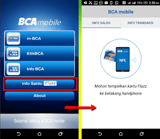 Panduan Cara cepat dan mudah cek saldo e-money di handphone