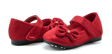 Red Toddler Dress Shoe