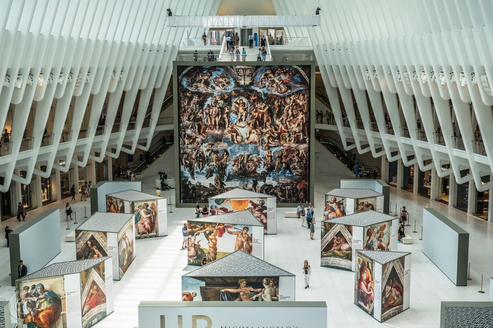 Sixtinische Kapelle oculus