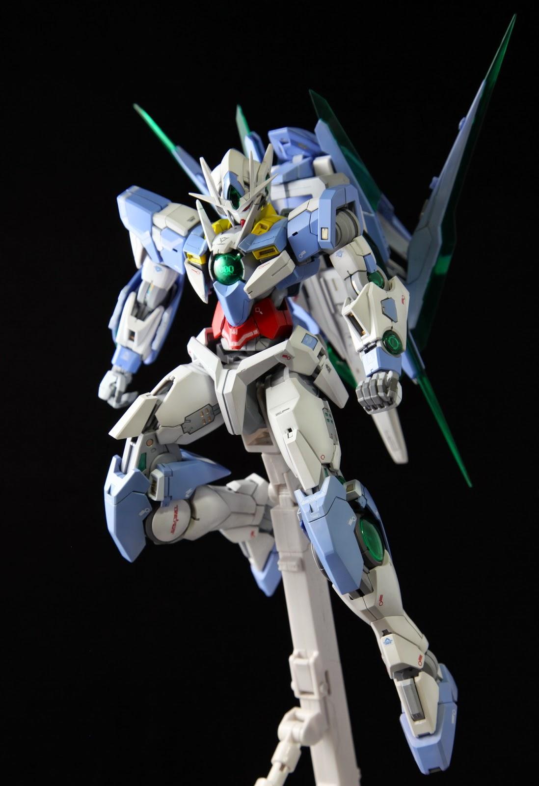 Custom Build Mg 1 100 00 Quanta Gundam Kits Collection