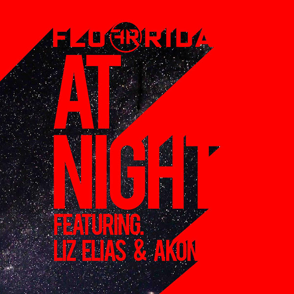 Flo Rida - At Night (feat. Liz Elias and Akon) - Single Cover