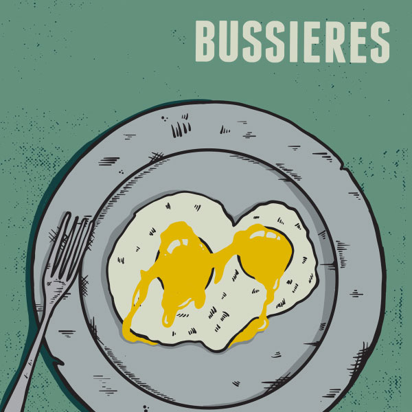 """Bussieres stream new EP """"Sunny Side Up"""""""