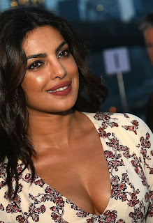 Priyanka Chopra Hottest Deep Neck Pics at The New York Fashion Week 2016 In NY