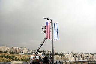 Embaixada dos EUA em Jerusalém está com tudo pronto