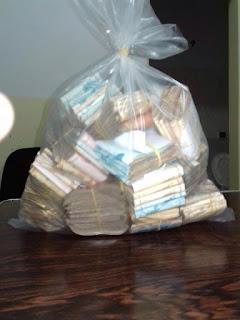 PRF apreende mais de 128 mil Reais em Dinheiro