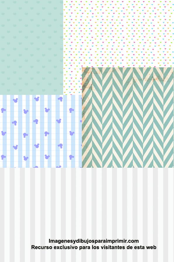 Papel Scrapbook Para Bebes Para Imprimir Imagenes Y Dibujos Para