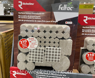 Protect your expensive floors with the Richelieu Surface Savers Household Kit