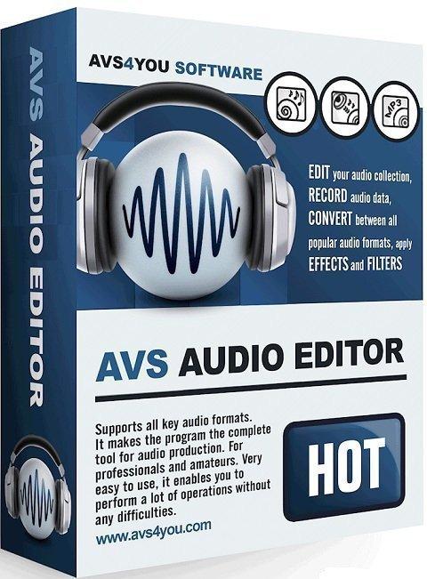 برنامج تحرير ومونتاج الملفات الصوتية | AVS Audio Editor 9.0.3.534