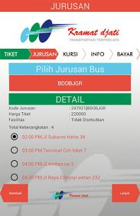 Cara Pesan Tiket Online Bus Kramatdjati