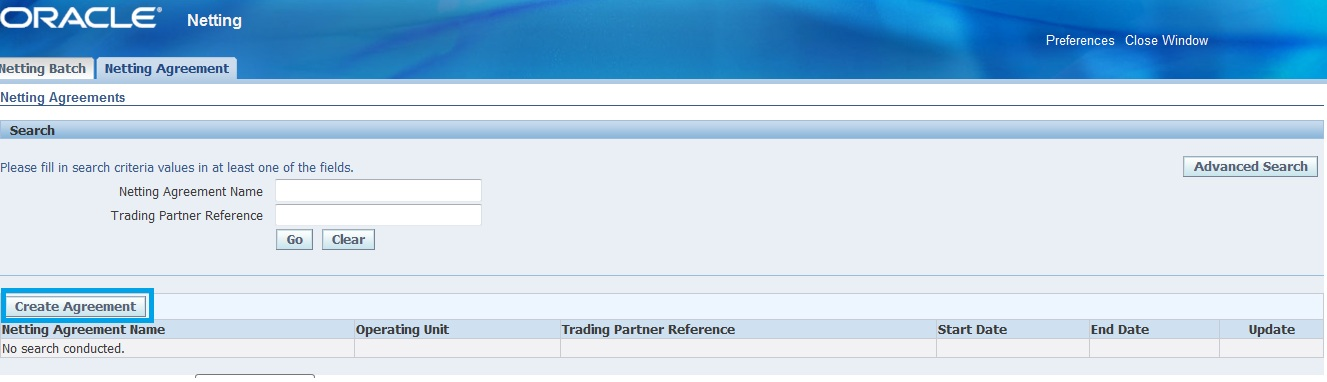 Apar Netting Setups In R12 Oracle Techno Functional