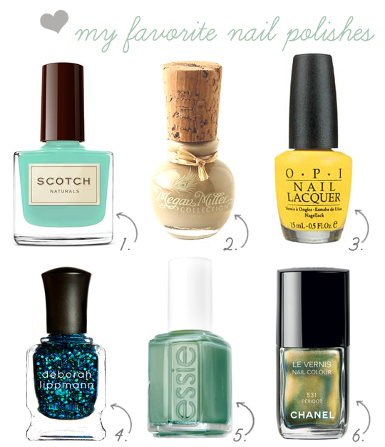 my favorite nail polishes