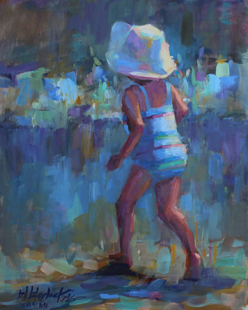 66a503fb3ae LITTLE GIRL WITH THE FLOPPY HAT (2) BY ELIZABETH BLAYLOCK