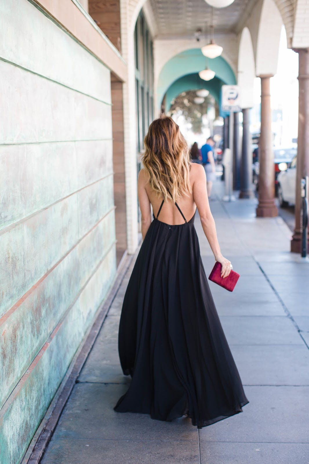black tie maxi dress, outfit ideas for prom or black tie event, lulus black dress