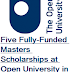 Five Fully-Funded Masters Scholarships at Open University in UK, 2018-19