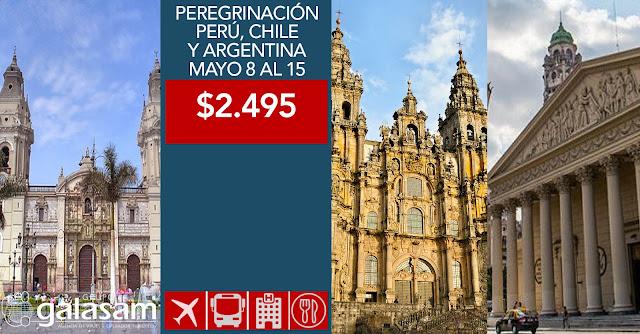 PEREGRINACIÓN A LOS SANTUARIOS DEL SUR  MAYO 8 AL 15