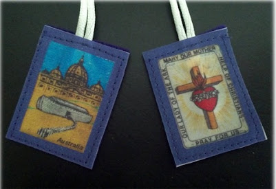 THE PURPLE SCAPULAR