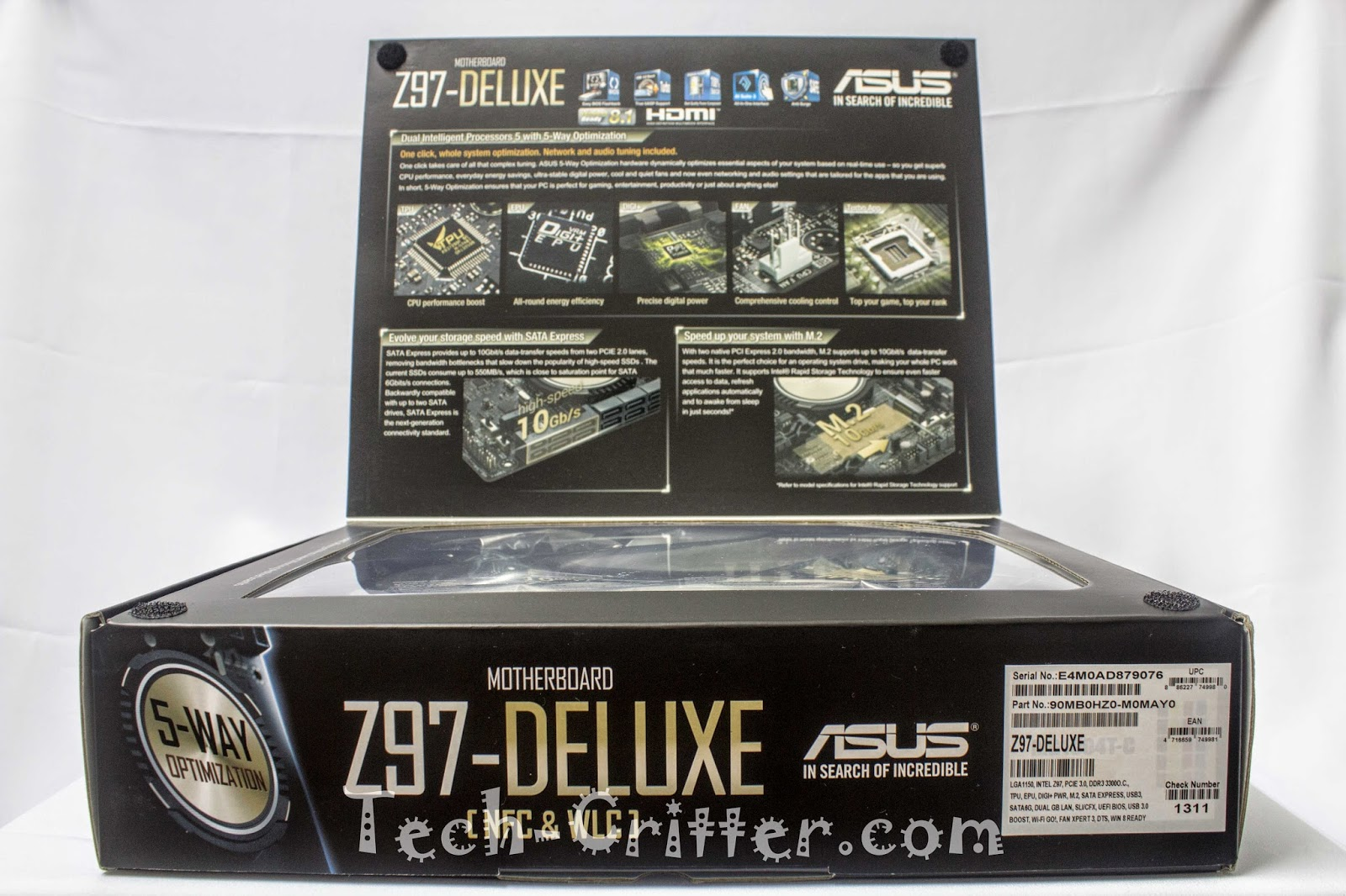 Unboxing & Review - ASUS Z97-Deluxe 158