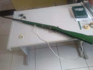 Guarnição Policial de São Vicente do Seridó retira de circulação mais uma arma de fogo