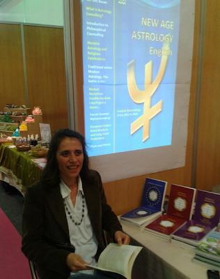 Φεστιβάλ Αστρολογίας και ευεξίας ! Κυριακή 7 Απριλίου 2013.  Επίσκεψη στο περίπτερο του Βασίλη Παπαδολιά.