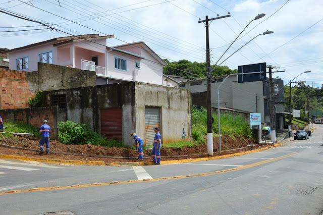 PREFEITURA CAJATI  INICIA OBRA DE REVITALIZAÇÃO DE PASSEIO PÚBLICO
