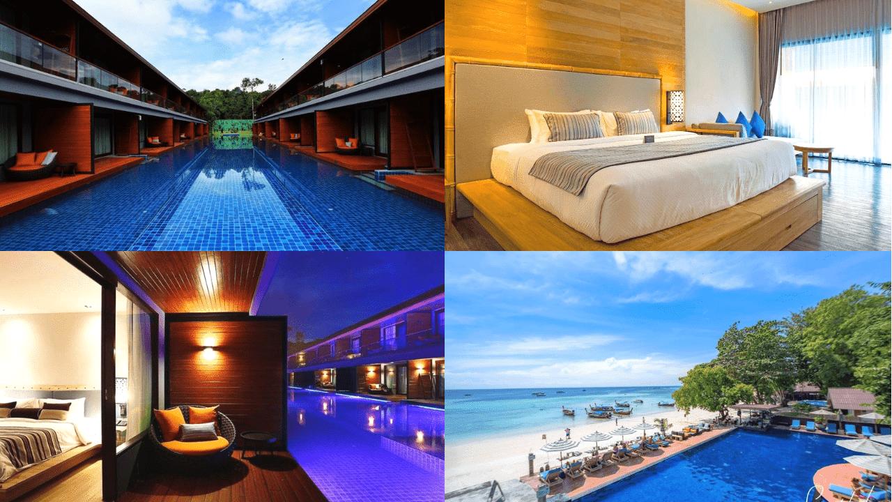 10 ที่พักเกาะหลีเป๊ะติดทะเล มีสระว่ายน้ํา วิวสวยระดับ 5 ดาว!!