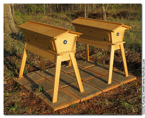 Randy & Meg's Garden Paradise: Installing bees in a Top ...