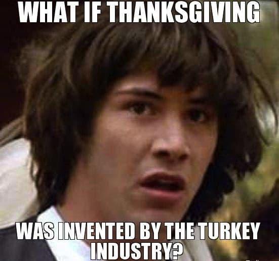 thanksging meme for you