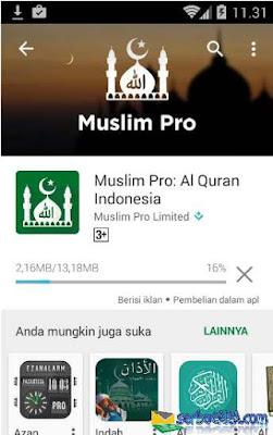 Aplikasi Jadwal Sholat Muslim Pro – Al Quran Indonesia