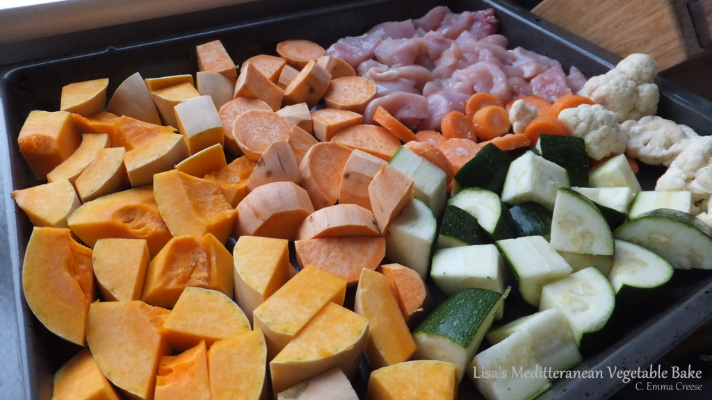 BBQ Recipe Mediterranean Vegetable Bake