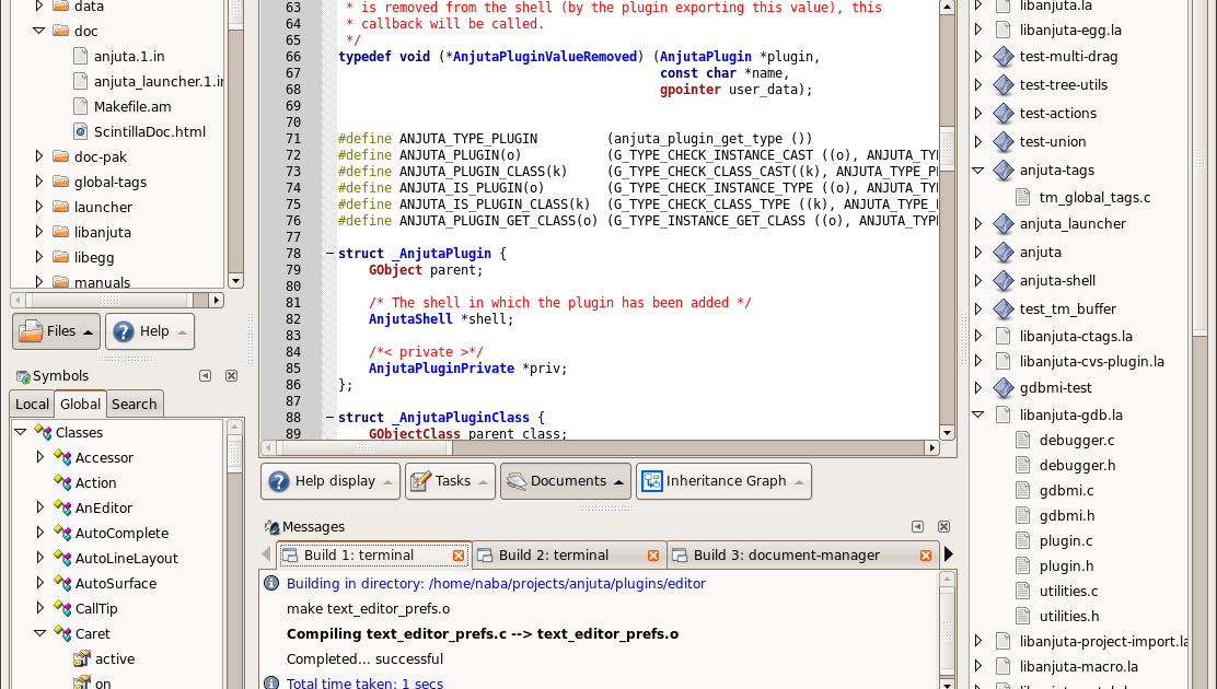GPU/OpenCL Modeling: Anjuta Project Wizards for AMD, NVidia and