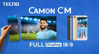 Checckout Tecno Camon CM With 18:9 Display