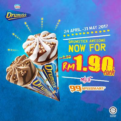99 Speedmart Nestlé Drumstick Malaysia Discount Offer Promo