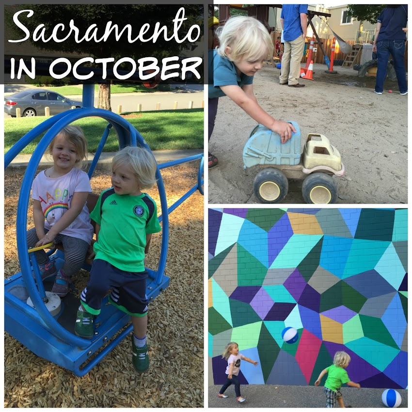 October in Sacramento