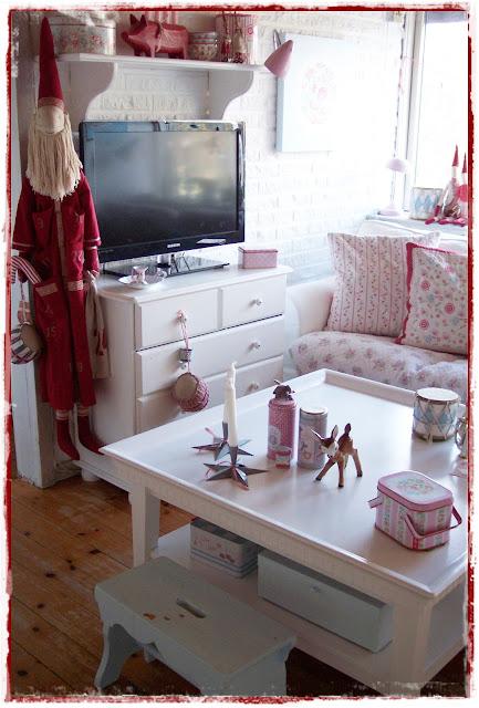 sofabord design rundt brugt