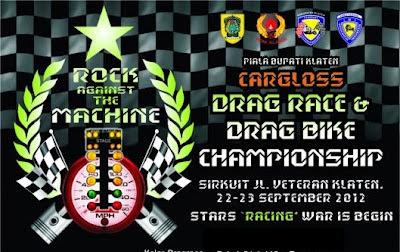 Event Dragrace dan Dragbike Klaten 2012