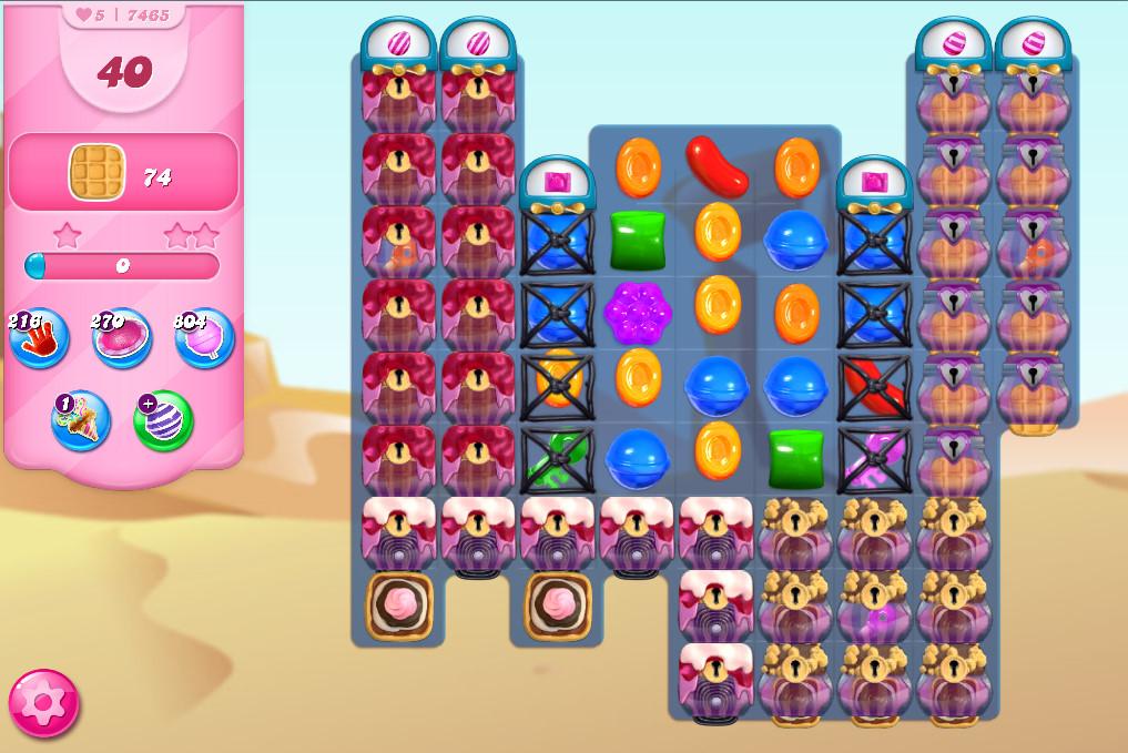 Candy Crush Saga level 7465